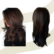Amazoncom Long Layered Shoulder Length Synthetic Hair Ultra Soft
