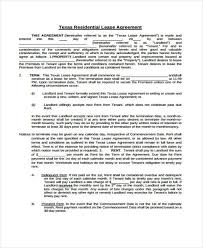 Prorated Rent Lease Agreement Choice Image - Agreement Letter Format
