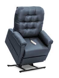 lift chair recliner l 158 elcamino lifted indigo