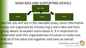 informational essay 7