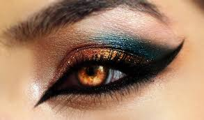 makeup brands with cool makeup ideas for blue eyes with grand arabia eye makeup by desert winds