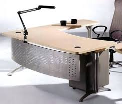 l shaped office table. L Shaped Office Desks Home Modern Elegant Wood Top Executive Table I