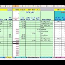 Simple Accounting Spreadsheet For Small Business Spreadsheets