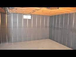 basement to beautiful insulation panels