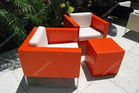 Modern Patio Furniture — Stock © Wimbledon