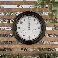 outdoor clocks outdoor decor the