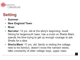 deep survival by laurence gonzales ppt  setting summer new england town river narrator 14 yrs