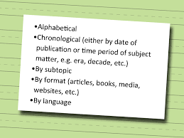 3 Ways To Write An Annotated Bibliography Wikihow