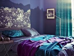 how to add purple to turquoise home decor