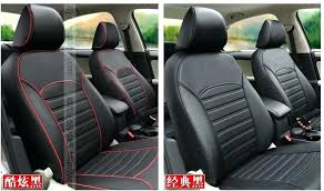 autocraft seat covers cover faux leather luxury black polo park place
