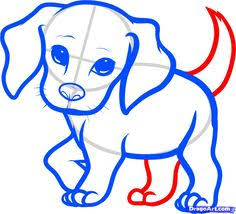 puppy drawing for kids. Exellent Puppy How To Draw A Beagle Puppy Puppy Step 6 For Puppy Drawing Kids
