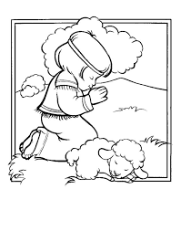 Small Picture David and lamb coloring sheet Google Search coloring sheets