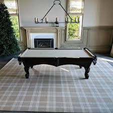 pool table rug finished installing this x foot area rug in coast we moves the pool