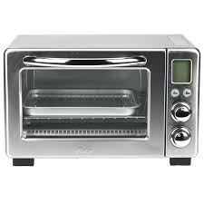 oster stainless steel toaster oven convection toaster oven stainless steel oster 6 slice brushed stainless steel