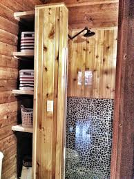 Cabin Bathroom A New Cabin Bathroom Sans Bat Poo Cabin Crush