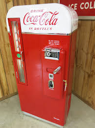 Retro Soda Vending Machine Delectable Coke Machine Restoration CocaCola Machine Restoration Vintage