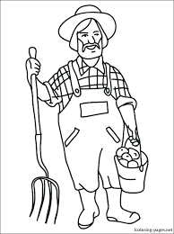 Captivating Animal Coloring Pages Printables Farm Coloring Sheet