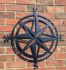 compass wall art compass wall decor nautical art nautical metal wall art nautical rose outdoor metal