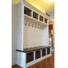 Coat Rack With Cubbies THE DUBLIN Mudroom Lockers Bench Storage Furniture Cubbies 2
