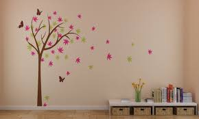 home decorating images colorful cherry blossom tree with erfly wall stickers hd wallpaper and background photos