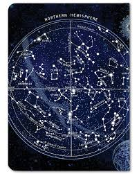 Cognitive Surplus Constellation Star Chart Astronomy Illustration Notebook Large Size Dot Grid 100 Recycled Bullet Journal