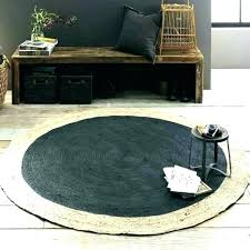 3 ft round bathroom rug circle area rugs the home depot jute foot 5 large 2