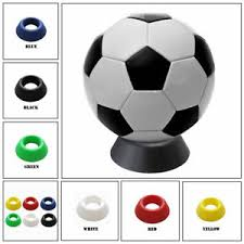 Football Display Stand Plastic Ball Stand Plastic Display Holder For Basketball Football Soccer 53
