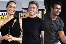 Изучайте релизы the eternals на discogs. Marvel Introduces The Eternals With Angelina Jolie Richard Madden Ew Com