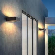 Light At The Door Us 17 5 65 Off Outdoor Waterproof Aluminum Wall Lamp 7w Led Wall Light Garden Light Porch Patio Corridor Light Front Door Wall Lights Bl35 In