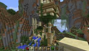 Modern Mountain House Modern Mountain House Minecraft Project