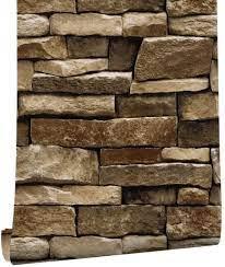HAOKHOME 61029 3D Brick Wallpaper Roll ...