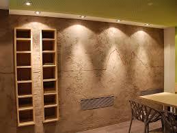 Schlafzimmer Ideen Wandgestaltung Lila Dekoration Wohndesign