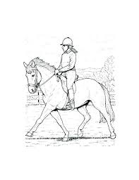 Horse Pages To Color Trustbanksurinamecom