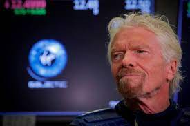 Billionaire Branson set to fly to space ...