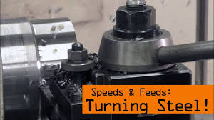 Speeds Feeds For Steel On The Lathe Ww171