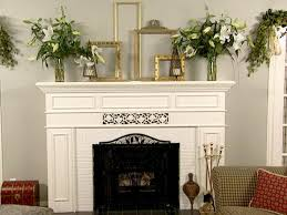 what to hang over fireplace mantel