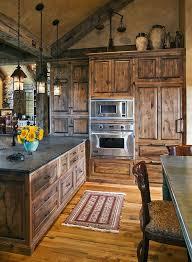 Rustic Kitchen Remodel Creative Design Cool Decoration