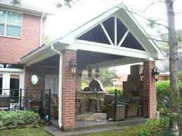 outdoor kitchen roof gable style roof outdoor kitchen shed roof