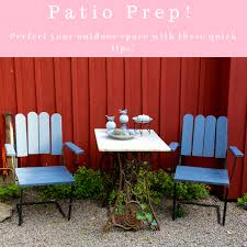 patio prep tips on getting your outdoor e in top shape