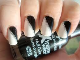 Pictures Of Black And White Nail Designs Pink And Silver Gel Nail Designs 2015 Best Nails Design Ideas