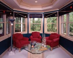 Living Room Bay Window Home Decoration Diy Living Room Bay Window Treatment Ideas