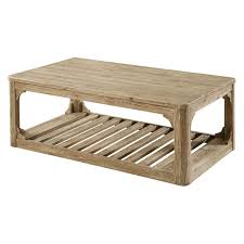 emerald home laramie rectangular rustic brown reclaimed wood coffee table hayneedle