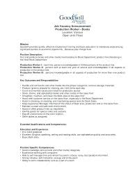 Assembly Line Job Description For Resume Best Of Assembly Technician Job Description Tierbrianhenryco