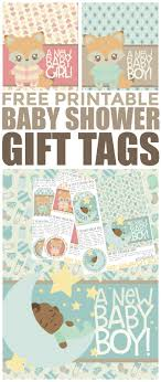 10 printable baby shower favor tags and gift tags! Free Printable Baby Shower Gift Tags Frugal Mom Eh