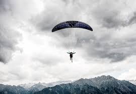 jean baptiste chandelier paraglider pyrenees northern spain