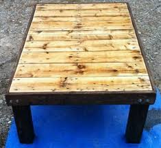coffee table from a pallet how to build make diy