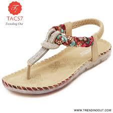 Designer Flip Flops Womens Summer Sandals Women T Strap Flip Flops Thong Sandals Designer Elastic