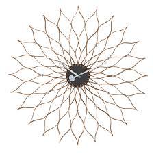 buy the vitra sunflower clock  utility design