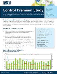 factset mergerstat bvr control premium study business valuation  control premium study product sheet