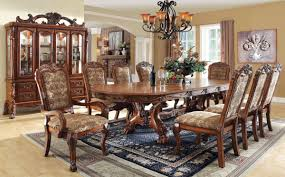 furniture of america dining sets. Furniture Of America Medieve Elegant \u0026 Large Dining Set Diningroom CM3557T-7PC Sets I